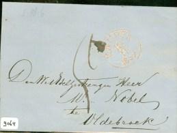 BRIEFOMSLAG Uit 1859 Van KAMPEN Naar OLDEBROEK  (9064) - Period 1852-1890 (Willem III)