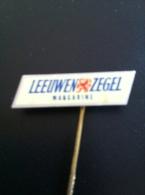 Pin Leeuwen Zegel Margarine (GA00016) - Administraties