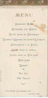Menu/ Consommé Royal / Salons Deguin/Lyon /1906   MENU78 - Menus