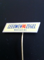 Pin Leeuwen Zegel Margarine (GA00027) - Administraties