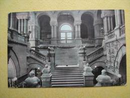 L´Escalier Occidental Du Capitole. - Albany