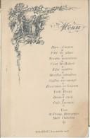 Menu/ Hors D´oeuvre / Hotel BEAU /1907   MENU79 - Menus