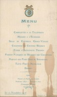 Menu/ Cassolettes à La Talleyrand / Berrier Et Milliet /Lyon / 1906      MENU80 - Menus