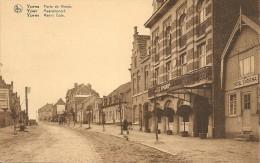 Ieper- Ypres- Porte De Menin, Hotel Ypriana  (J. Versailles, Grand Bazar, Ypres) - Ieper