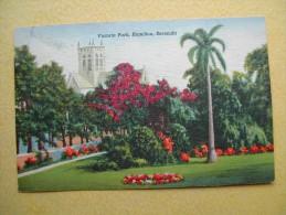HAMILTON. Le Parc Victoria. - Bermudes