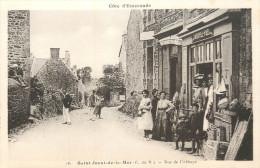 22 SAINT JACUT DE LA MER  Rue De L'abbaye Commerce   2 Scans - Saint-Jacut-de-la-Mer