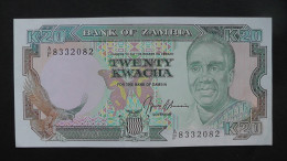 Sambia - 20 Kwacha - 1989- P 32b - XF - Look Scans - Sambia