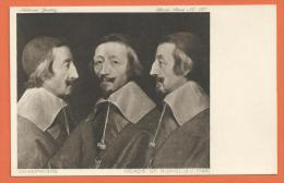 Oct25, Champaigne, Heads Of Richelieu, National Gallery, Official Serires 237, Non Circulée - Historia