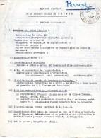 Perwez Perwijs Wavre   Front De L´indépendance  Voir Scans  4 Pages  Rapport  1944 - 1939-45