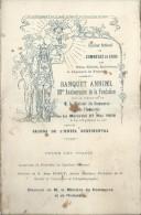 Menu/Syndicat National Du Commerce En Gros/ Banquet Annuel1/Musique Du 46éme RI/1908   MENU85 - Menus