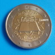 2 Euro Commemorative Pays-Bas 2007 TDR Traité De Rome  PIECE NEUVE UNC - Pays-Bas