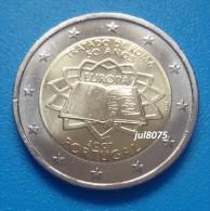 2 Euro Commemorative Portugal 2007 TDR Traité De Rome  PIECE NEUVE UNC - Portugal