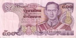 BILLETE DE TAILANDIA DE 500 BAHT DEL AÑO 1988 (BANKNOTE) - Thailand