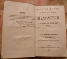 livre 1853 rare sur brasserie brouwerij l'art de faire de la bi�re louvain,biest,malines,lierre,hoegaerden,ect......
