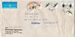 Postal History Cover:  Kenya - Vogels