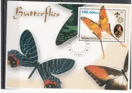 Afghanistan 2001 Vlinders, Butterflies, Scouting 3) - Afghanistan