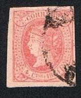 Ed. 64 Isabel II  1864 4 Cuartos Usado - 1850-68 Royaume: Isabelle II