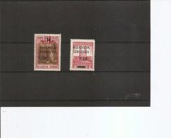 Ruanda-Urundi ( 119/120 XXX -MNH) - 1924-44: Neufs