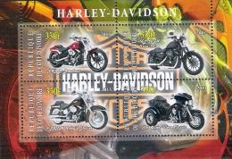 Tim 0090 Moto Motorcycle Motorbike Motorrad Harley Davidson 2013 - Côte D'Ivoire (1960-...)