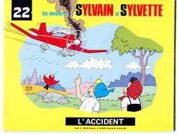 Sylvain et Sylvette album n� 22 L�accident 1989