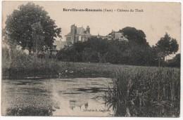 27 - BERVILLE En ROUMOIS -- Château Du Thuit - France