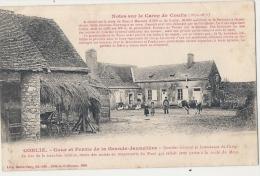CONLIE Cour Et Ferme De La Grande Jaunelière, Quartier Général Et Intendance Du Camp 1870 (petit Décollement Feuillets) - France