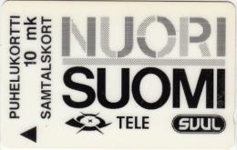 FINLAND(GPT) - Nuori Suomi, CN : 20FINA, tirage 7500, 03/92, used