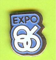Pin EXPO 86 - 7O14 - Pin's