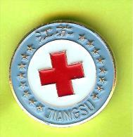 Pin /Broche Croix Rouge Jiangsu - 7O19