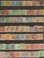 ROMANIA Collection 1872-1893 U (66) HM1 - Timbres
