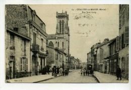 CPA  51  /    CHALONS SUR MARNE  Rue St Loup      1934      VOIR  DESCRIPTIF   §§§ - Châlons-sur-Marne