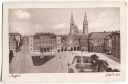 Hungary, SZEGED, Old Postcard - Hungary