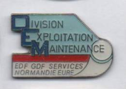 EDF GDF , Division Exploitation Maintenance Normandie Eure - EDF GDF
