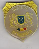Romania army pin badge