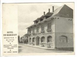 CPSM SAINT VITH (Belgique-Liège) - Hotel PIP - MARGRAFF - Saint-Vith - Sankt Vith