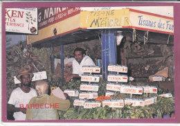 Vendeur De Tisanes Au Bazar De Port Louis - Mauritius