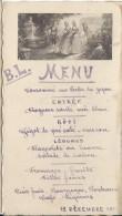 Consommé Aux Perles Du Japon/BL/ 1936      MENU87 - Menus