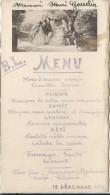 Hors D´Oeuvre Variés/BL/ Gosselin/ 1936      MENU88 - Menus