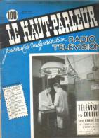 """3 Revues  Ancienne 1958 """"le Haut-Parleur"""" N° 1010-1011-1012 - Livres, BD, Revues"""