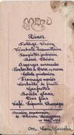 Diner / Potage Crécy/ Premiére Communion/ Thérése Leseigneur/ Gosselin / 1936      MENU89 - Menus