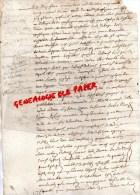 87 - SAINT LEONARD DE NOBLAT- LA CHASSAGNE- PIERRE BODEAU LA CHASSAIGNE MARIAGE - 1655 - Manuscrits