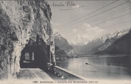 Axenstrasse   Gallerie Und Bristenstock        Scan 8333 - Suiza