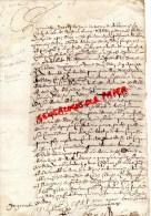 87 - SAINTLEONARD DE NOBLAT - NEXON- FRANCOIS DEGAY  1669 - Manuscrits