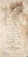 Mariage / Robin-Boulland/ Diner/ Consommé Aux Perles /Pescheurs/La Couture Boussey:Eure/ 1920  MENU91 - Menus
