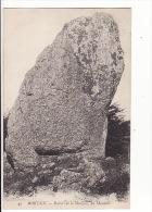 Carte 1910 MORTAIN / Rochers De La Montjoie , Un Monolite (dolmen ,menhir ?) - Frankreich