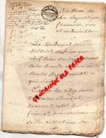 87 - SAINT PRIEST LIGOURE - THEREZE BOUTOT CHASSAIGNE LA RIBIERE RIVIERE- 1710 HYPPOTHEQUE - Manuscrits