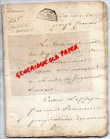 87 - SAINT PRIEST LIGOURE - THEREZE BOUTOT CHASSAIGNE LA RIBIERE RIVIERE- GERMAIN BUSSIERE-AN 6 - Manuscrits
