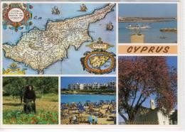 CYPRUS - Multi View   , Large Format, Nice Stamp - Cyprus