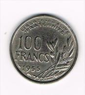 ¨ FRANKRIJK 100  FRANCS 1955 B - France