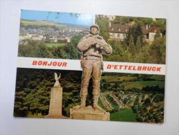 Luxembourg  - Ettelbruck    US General  G.S. Patton  D118771 - Ettelbruck